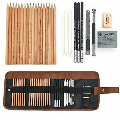 Drawing Sketching Pencil Set, EASEHOME Art Kit with 18 Sketch Draw Pencils 3