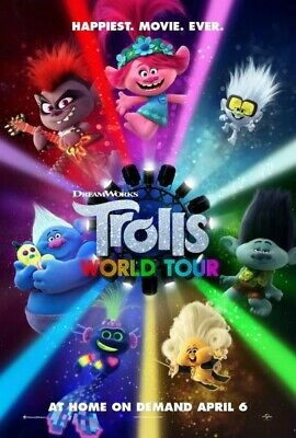 Trolls World Tour - Redbox on demand (ondemand) 1 Digital Rental..Fast Delivery.