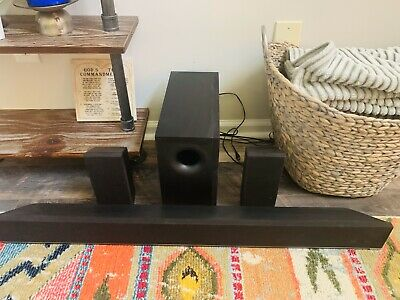 """38"""" 5.1 Sound Bar with Wireless Subwoofer & Rear Satellite Speakers   S3851w-D4"""