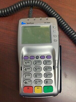 Vx805 Pinpad Came From Working Environment