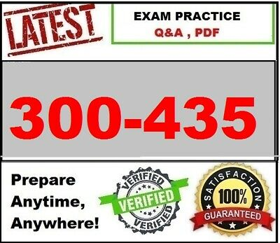 300-435 Automating and Programming Cisco Enterprise Solutions ENAUTO Exam Q&A