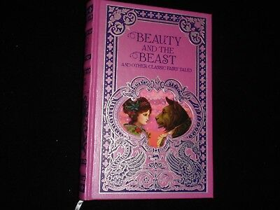 Beauty and The Beast and Other Classic Fairy Tales HC embossed cover, gilt edged