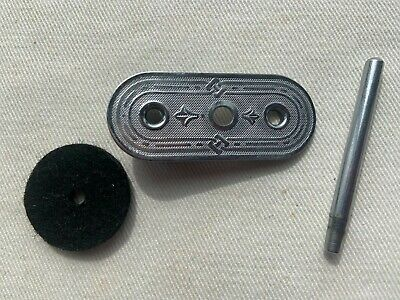 Vintage Original Singer Sewing Machine 201 Scroll Spool Pin Plate and spool pin