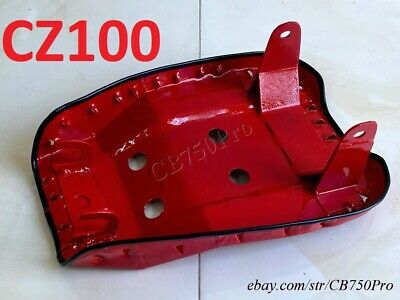 Honda CZ100 New Seat Base C Z100 Monkey Bike Metal Seat Saddle Pan.