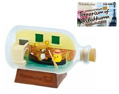 RE-MENT Rilakkuma Terrarium Feel Like Traveling Europe Figure Kiiroitori Venice