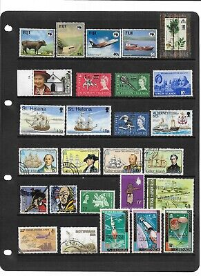 Commonwealth - A4 stockcard of stamps - Mint & Used - 99p start