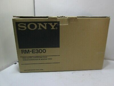 NEW in BOX  Vintage SONY Video Editing Controller/Titler RM-E300