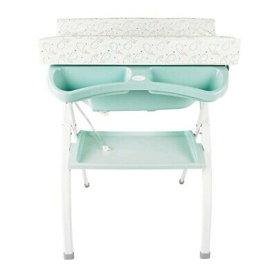 Lindo Ergonomic - Baby changing and bath table - mint green