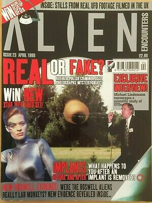 ALIEN ENCOUNTERS Magazine #23 April 1998 - Real Or Fake?, Roswell Evidence