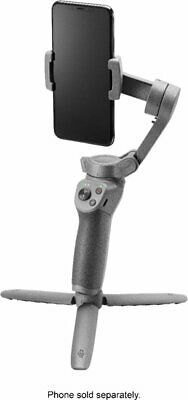 DJI - Osmo Mobile 3 Combo 3-Axis Gimbal Stabilizer for Mobile Phones - Gray