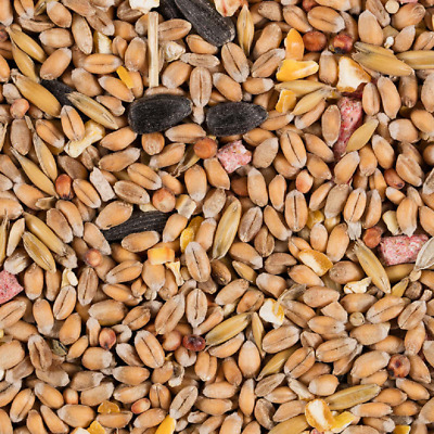 12.55Kg Glennwood Wild Bird Seed Feed Mix Wheat Barley Pellets Maize Sunflower