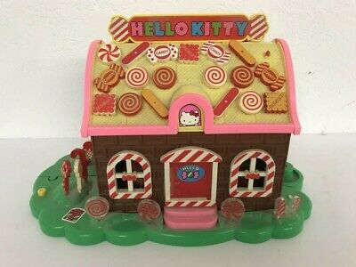 Vintage Rare Hello Kitty Toy SANRIO TOHO Smiling Bakery Candy House Collectible