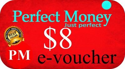 🔥🔥🔥 $8 e-perfect money PERFECT MONEY e-voucher NAJTANIEJ