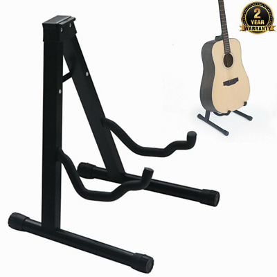 Universal Foldable Guitar Stand A Frame Fits All Guitars Acoustic Electric Bass