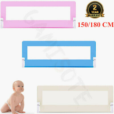 Baby Bed Safety Rail Guard Kid Toddler Infant Bedroom Protection Gate Household