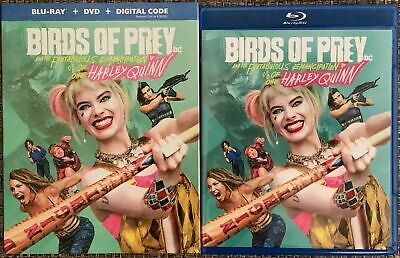 Birds Of Prey Harley Quinn Blu Ray Dvd 2 Disc Set + Slipcover Sleeve Buy It Now