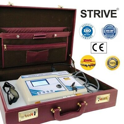 Pro. Diode Laser Machine LCD Physiotherapy LLLT Programmed Dermatological Unit