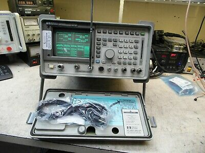 HP Agilent 8920A  Communications Service Monitor Spectrum Analyzer LOADED TESTED