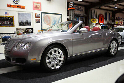 2007 Bentley Continental GT CONTINENTAL GTC CONVERTIBLE W12 SERVICED NEW TIRES CLEAN CARFAX, 10,382 MILES, MULLINER PACKAGE, WOOD DOOR INSERTS, WOOD WHEEL