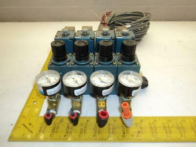 Mac 252B-504JC Direct Solenoid Air Valve Assembly T19251