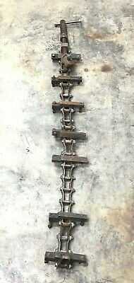 """H&M Chain Pipe Holder 48""""-Long Pipe Clamp 16"""" Pipe Welding"""