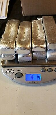 Aluminum Ingots / Bars - Total 4+LBs Hand Poured.  casting and jewelry making