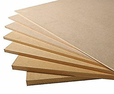 CUT TO SIZE / SHAPE  MDF Board 6 mm -  Send Us Your Measurement For A Quote