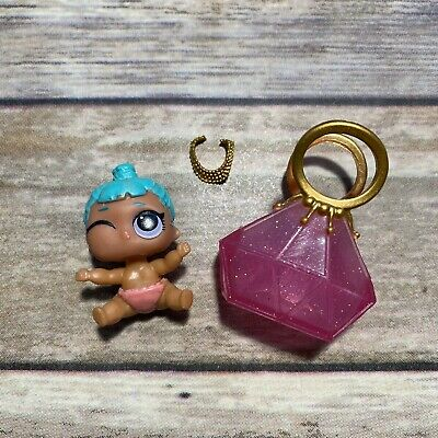 LOL Surprise Doll LIL GENIE Baby LITTLE SIS SISTER Dolls PINK BAG NECKLACE BABE