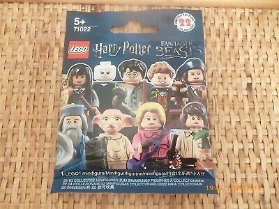 LEGO 71022 MINIFIG HARRY POTTER les animaux fantastiques Percival Graves neuf