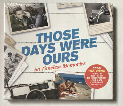 Those Days Were Ours 3CD - 60 Music Tracks From The 1950s And 1960s - New