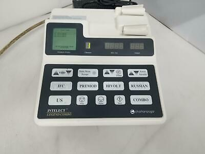 Chattanooga Intelect Legend Combo 2C Therapy Ultrasound System INTCB