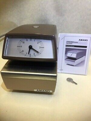 Amano 4700 Numbering, Year, Month, Date, and Time. Automatic consecutive 4 digit