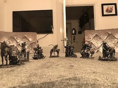 job lot of myth and magic figurines all excellent clean condition