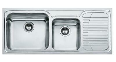 Franke Upstand GAX621 01.0017.504 Sink Basin 2 Tubs Stainless