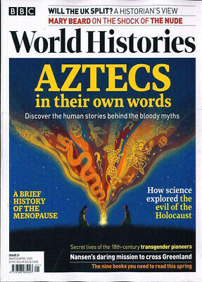 Bbc World Histories Magazine Issue 21 - March / April 2020 ~ New ~