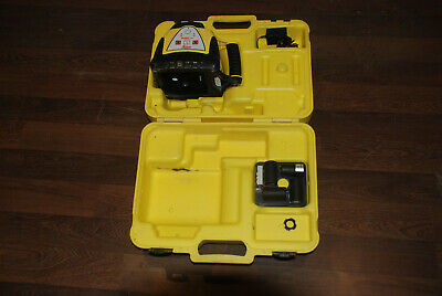 Leica Rugby 100 Laser Level For Builders & Surveying Includes Battery Box Charge