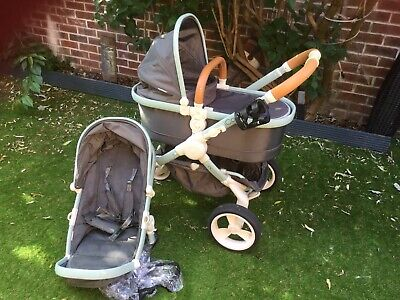Icandy Peach Dc Designer Collection Pushchair And Carrycot