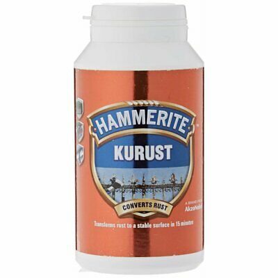 Hammerite Kurust Rust Killer Converts Rusty Metal One Coat Treatment - 250ml