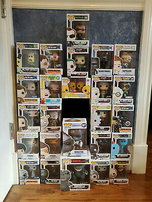 Funko Pop Lot- Marvel, Star Wars, DC, Exclusives, More