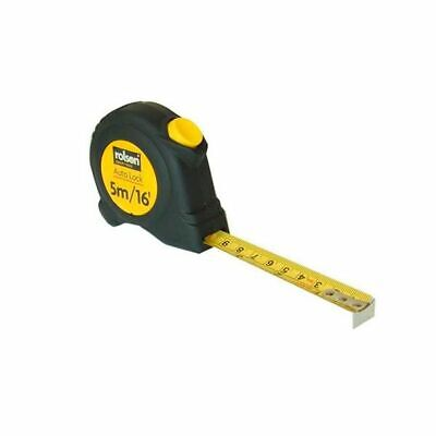 Rolson Tape Measure 5M With a Rubber Cover