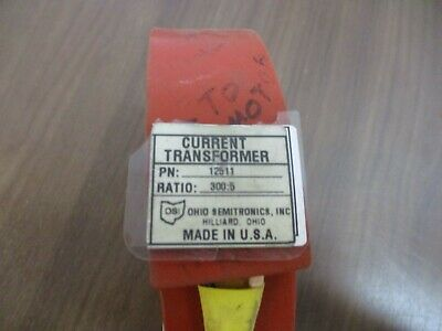 Ohio Semitronics, Current Transformer, 12511, ratio 300:5A, used