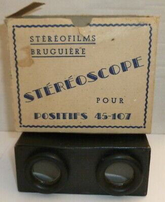 BRUGUIERE STEREOSCOPE - Positive 45 - 107 - stereoscopic device