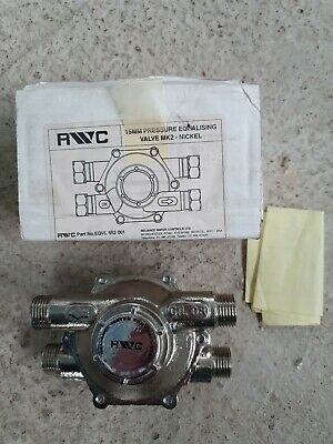RYC RELIANCE PRESSURE EQUALISING REDUCING VALVE 15mm NICKEL 233-4197 [BRAND NEW]