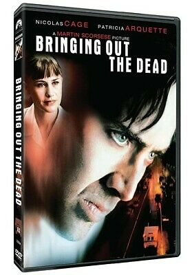 Bringing Out The Dead DVD R1 1999/2006 Martin Scorsese Nicolas Cage John Goodman