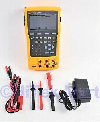 Fluke 753 Handheld Documenting Process Calibrator with test leads