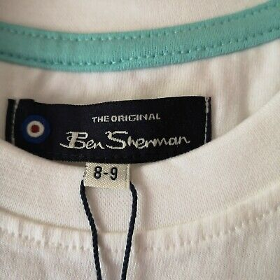 Boy's T-Shirt / Ben Sherman / Age 8/9 Years / Brand New With Tags