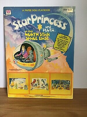 1979 Star Princess And Pluta At Their North Star Space Base Paper Doll Unpunched