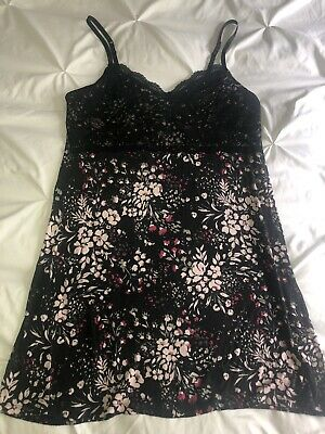 Maurices Woman's Sleep Dress Pajamas Size L Large Floral