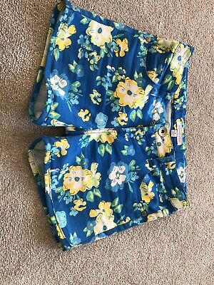 Girls Bright Floral Shorts From Pumpkin Patch Size 9yrs