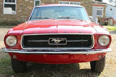 Ford Mustang 1967 289 6 Cylinder Coupe Automatic